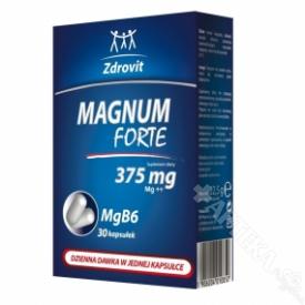 Zdrovit Magnum Forte 375, 30 kapsułek