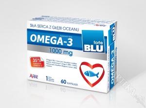 Omega 3 Blu Forte, 1000mg, 60 kapsułek