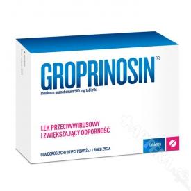 Groprinosin 500mg, 50 tabletek