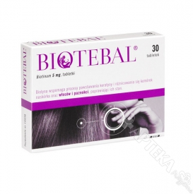 Biotebal 5mg, 30 tabletek