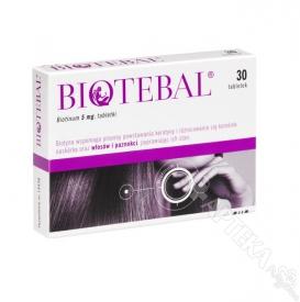 Biotebal 5mg, 30 tabletek