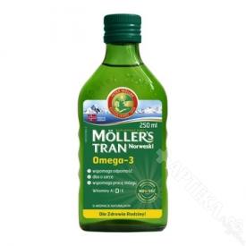 Moller's Tran Norweski naturalny płyn 250ml