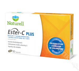 Naturell Ester-C PLUS, 50 tabletek