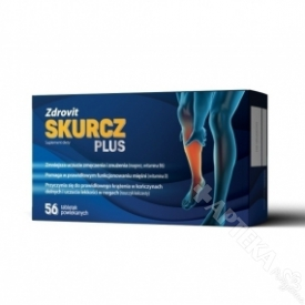 Zdrovit Skurcz Plus, 56 tabletek