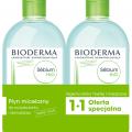Bioderma SEBIUM H2O  Płyn micelar. 2x 500ml
