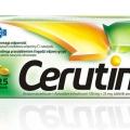 Cerutin, 125 tabletek powlekanych