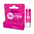 REGITAL Strawberry Lip Care, odżywcza pomadka z wit. C, 4,9g