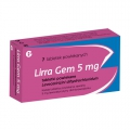 Lirra Gem 5mg, 7 tabletek