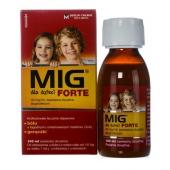 MIG Forte dla dzieci, zawiesina doustna, smak truskawkowy 40mg/ml, 100ml