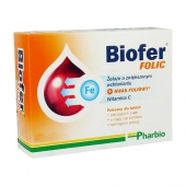 Biofer Folic, 80 tabletek
