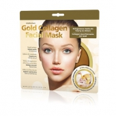 GlySkinCare Gold Collagen Facial Mask, 1 sztuka