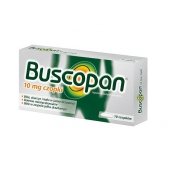Buscopan 10mg, 10 czopków