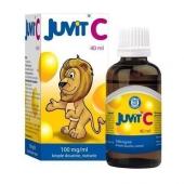 Juvit C 100mg/ml, krople dla dzieci, 40ml