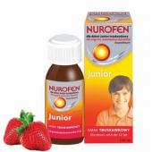 Nurofen Junior, zawiesina doustna dla dzieci, smak truskawkowy, 100ml