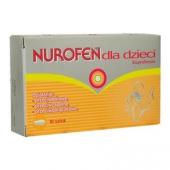 Nurofen, 125 mg, 10 czopków