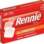 Rennie Fruit, 24 tabletki do ssania