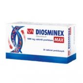 Diosminex Max, 1000mg, 60 tabletek