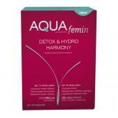 Aqua-femin, 60 kapsułek (30+30) + GRATIS krem do rąk BARWA z oliwką i shiitake, 100ml
