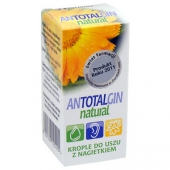 Antotalgin Natural, krople do uszu z nagietkiem, 15g