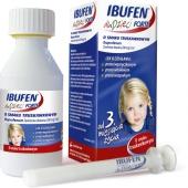 Ibufen Forte, zawiesina dla dzieci, smak truskawkowy, 100ml