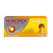 Nurofen, 200 mg, 6 tabletek (od 6 lat)