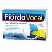 Fiorda Vocal, 30 pastylek do ssania
