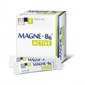 Magne-B6 Active, granulki rozpuszczalne w ustach, 20 saszetek