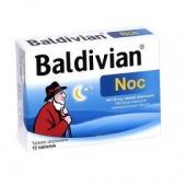 Baldivian Noc, 15 tabletek