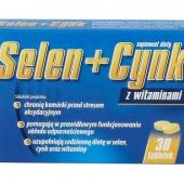 Selen+Cynk Aflofarm, 30 tabletek