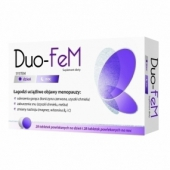 Duo-FeM, 28 tabletek na dzień i 28 tabletek na noc