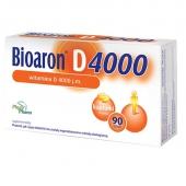 Bioaron D 4000 j.m., 90 kapsułek twist-off