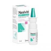 Nasivin Soft 0,01%, krople do nosa dla niemowląt powyżej 3 miesiąca do 1 roku, 5ml