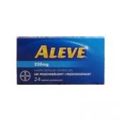 Aleve, 220 mg, 24 tabletki