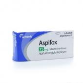 Aspifox 75mg, 100 tabletek dojelitowych