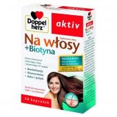 Doppelherz Aktiv Na włosy + Biotyna, 30 kapsułek