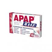 Apap Extra, 10 tabletek