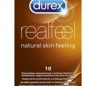 Prezerwatywy DUREX RealFeel, 10 sztuk