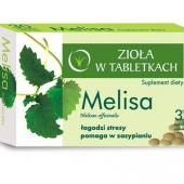 Melisa, zioła w tabletkach, 30 tabletek