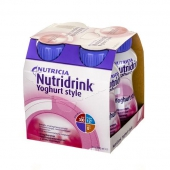 Nutridrink Yoghurt Style, malinowy, 200ml (1 sztuka)