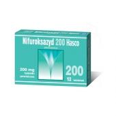 Nifuroksazyd 200 Hasco, 12 tabletek