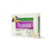Bratek, zioła w tabletkach, 90 tabletek