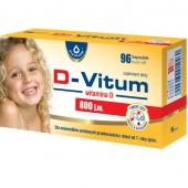 D-Vitum, witamina D dla niemowląt 800j.m., 96 kapsułek twist-off
