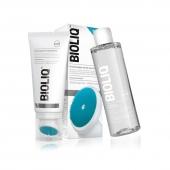 BIOLIQ Clean, żel oczyszczający do mycia twarzy 125ml + płyn micelarny 200ml