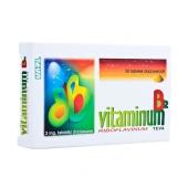 Vitaminum B2, 3mg, 50 drażetek