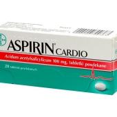 Aspirin Cardio 100, 28 tabletek