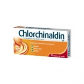Chlorchinaldin VP, 40 tabletek