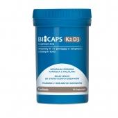 BICAPS K2 D3, 60 kapsułek