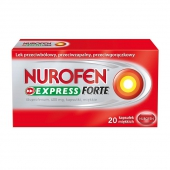 Nurofen Express Forte 400mg, 20 kapsułek