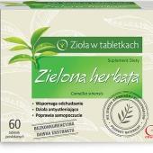 Zielona Herbata, zioła w tabletkach, 60 tabletek