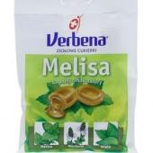 VERBENA, cukierki, melisa z witaminą C, 60g